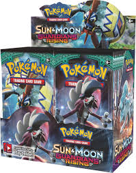 Pokemon Trading Card Game - Sun and Moon Guardians Rising Booster ...