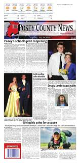 July 14, 202 - The Posey County News by The Posey County News - issuu