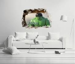 Custom Name Lego Hulk Wall Decal Egraphicstore