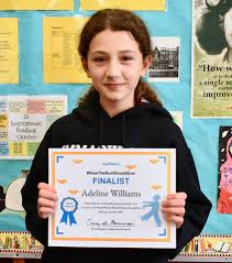 Congratulations to sixth grader Adeline... - Immaculate Heart High ...