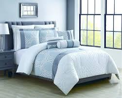 black and blue comforter set sets queen