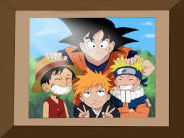 Jeux Naruto One Piece Dragon Ball Z