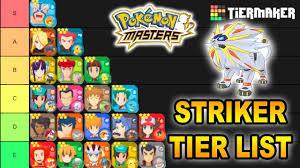 POKEMON MASTER STRIKER TIER LIST! BEST AND WORST STRIKER IN ...