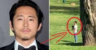 Korean-American Actor Steven Yeun And Wife Under Fire For Rude Behavior -  Koreaboo