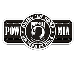 Bring Em Home Or Send Us Back Pow Mia Decal Memorial Vinyl Sticker Rotten Remains High Quality Stickers Decals