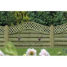 Omega Lattice Top Fence Panel 1800mm X 1200mm