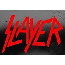 Amazon Com Slayer Red Sticker Decal Metal Band Wall Laptop Die Cut Red Sticker Decal Home Kitchen