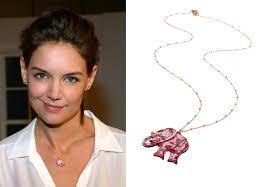 kohl s pink elephant necklace the