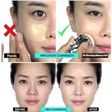 quick makeup powder puff wigones