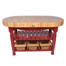 kitchen islands tables oval maple