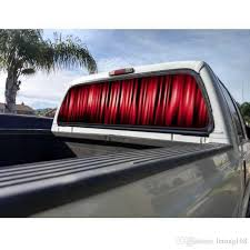 2020 Red Stripes Rear Window Graphic Decal Sticker Car Truck Suv Van From Letong168 36 19 Dhgate Com