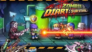 Tải game zombie diary hack cực kỳ hấp dẫn trên mobile