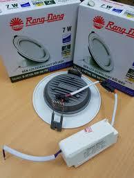 Đèn led rạng đông âm trần 7W-3 màu - 3 loại mặt lựa chọn 13212203