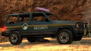 Security Jeep Design Edit Black Mesa Skin Mods