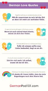 how to say i love you in german r tic word list