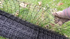 Pest Free Organic Gardening 7 Tenax Deer Fencing To Protect Fruit Trees From Damage Youtube
