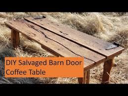 diy reclaimed barn door door coffee