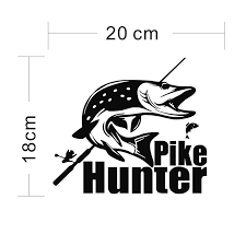 Tuna Hunter Fishing Decal In 9 Colors Decals Stickers Patches