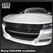 Dodge Charger 2015 2019 Sxt Front Bumper Blackout Decal Stripe 1227256 Pro Motor Stripes