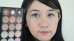 your nose appear thinner with makeup