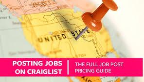 posting jobs on craigslist the full