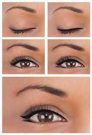 winged eyeliner for close set eyes