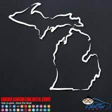 Michigan Vinyl Car Window Decal Sticker Graphic