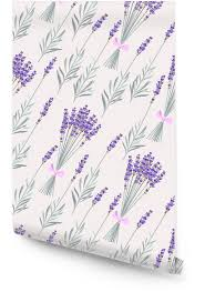 lavender bouquets seamless wallpaper