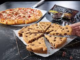 pizza hut delivery dine in cookies on