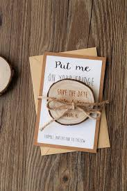 wooden save the date magnets wedding