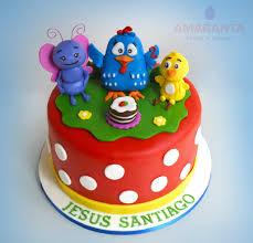 tortas pasteles gallina pintadita