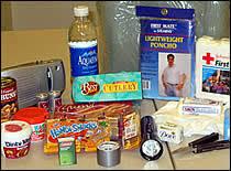 supplies for earthquake preparedness
