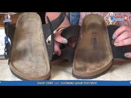 how to clean your birkenstock footbed