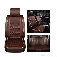 rear luxury leather car seat cover for