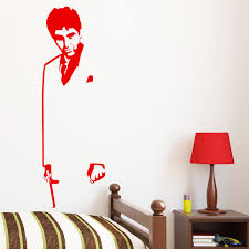 Scarface Silhouette Wall Mural