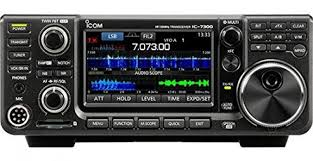 icom ic 7300 review cw touch keyer