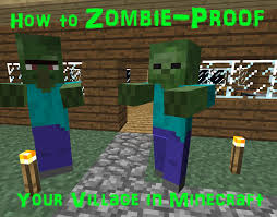 How To Zombie Proof Your Village In Minecraft Levelskip Video Games
