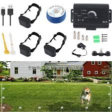 Big Offer B81cd 1 111 Dog Wireless Electric Fence Pet Shocked Training Collar Usb Rechargeable Electronic Pet Fence Containment System Cicig Co