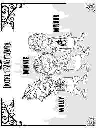 Kids N Fun Kleurplaat Hotel Transylvanie Hotel Transylvania 4