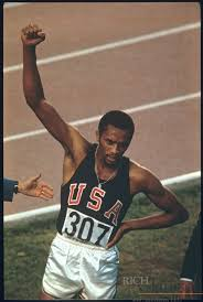 Tommie Smith - Athletics - Mexico City Olympics 1968 - Mens 200m ...