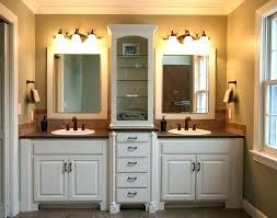 bathroom custom cabinets semi
