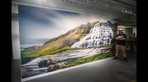 Custom Wall Mural Printing Options Installation Youtube