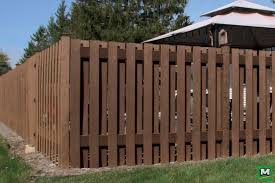 Add Some Privacy To Your Backyard With 6 Low Maintenance Composite Fencing By Ultradeck This Shadow Box St Good Neighbor Fence Wood Fence Design Fence Design