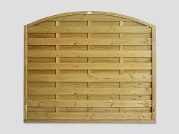Continental Fence Panels Pennine Arched Horizontal Panels Pennine Fencing Landscaping