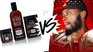 black men beard care oil balm