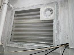 toilet louvers with exhaust fan at rs