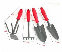 garden park size spade shovel rake hoe