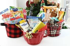 healthy food gift basket ideas for