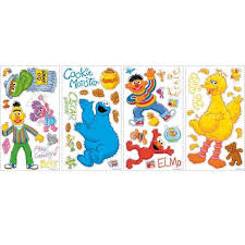 Sesame Street Peel And Stick Wall Decal Target