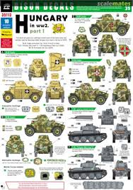 Hungary In Ww2 Bison Decals 35113 200x